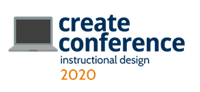 Create Conference 2020: Instructional design
